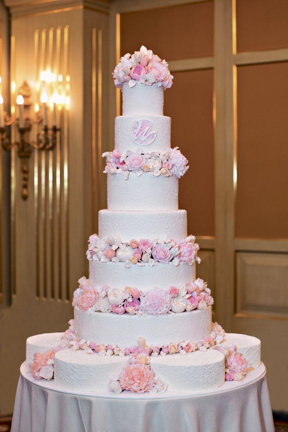 Большой свадебный торт картинки