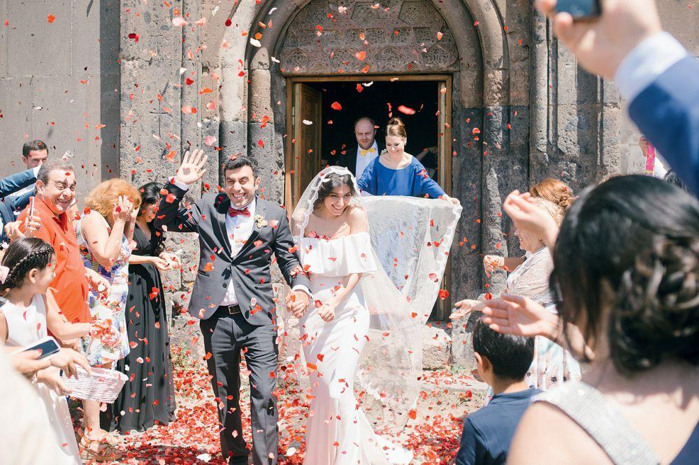 Поздравление на армянской свадьбе